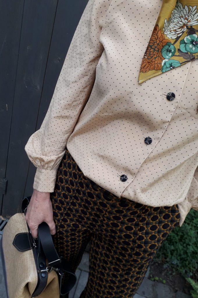 leather doctor's bag handbag blue sand beige